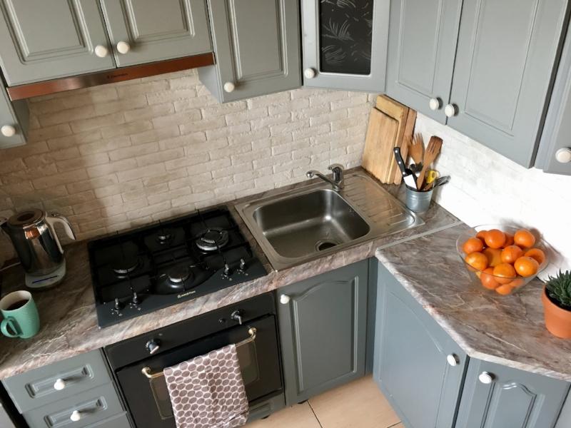 быстрый и бюджетный косметический ремонт кухни обновление
