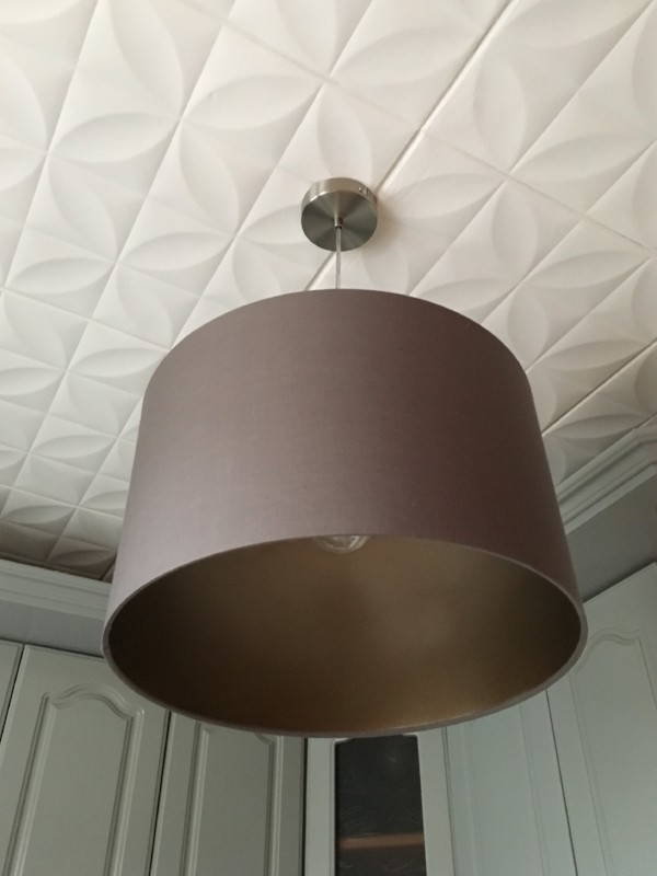 переделка перекраска абажура лампы