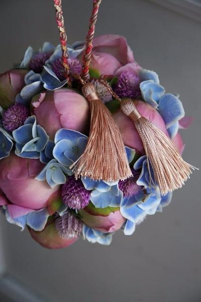 традиционный японский свадебный букет помандер