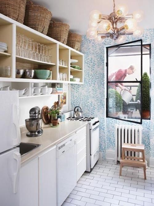 http://www.thekitchn.com/small-kitchen-storage-put-baskets-above-the-cabinets-177445