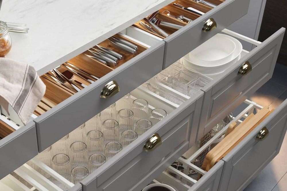Кухонные шкафы -