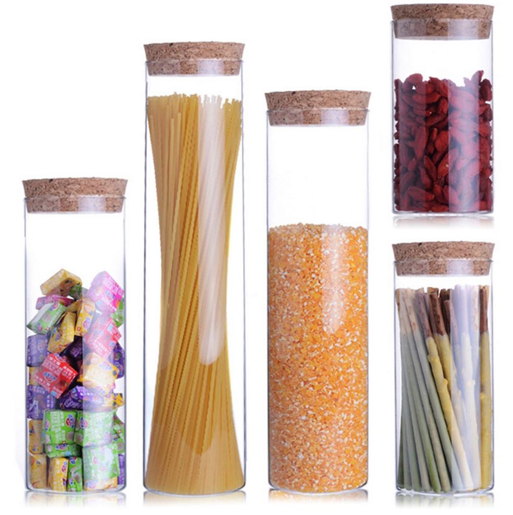стеклянные банки контейнеры для хранения на кухне