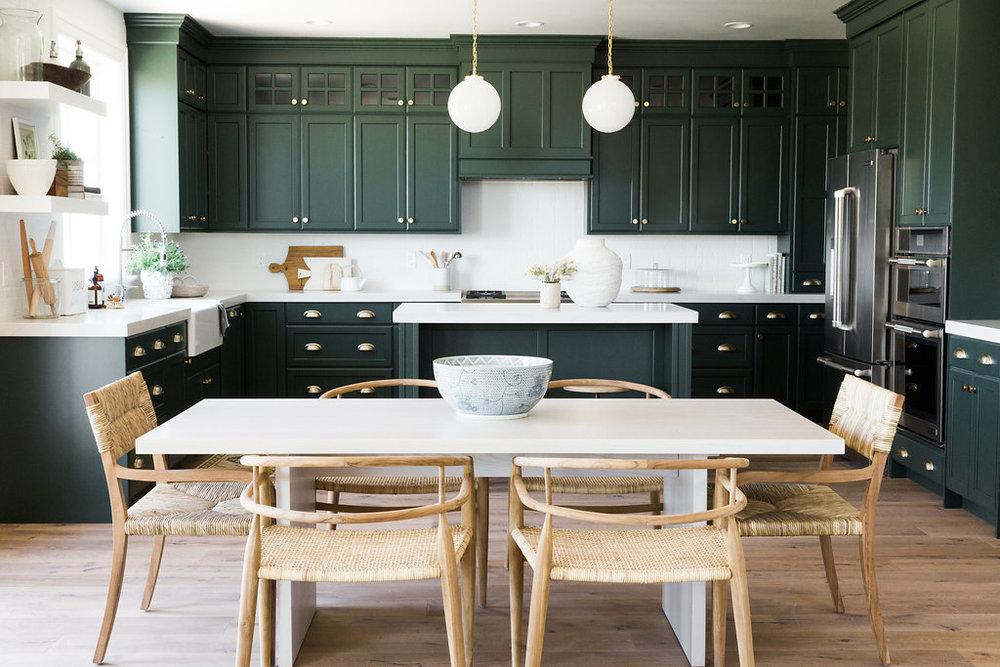 1. Разделите кухню на 5 рабочих зон -