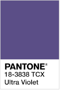 PANTONE 18-3838 Ultra Violet  ультрафиолетовый