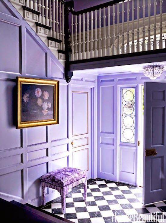 фиолетовые стены  источник