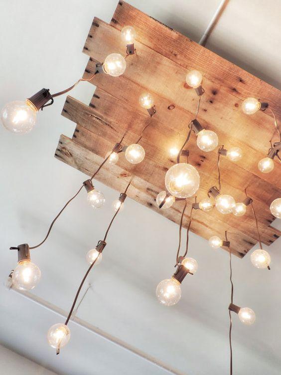 светильник из поддонов  источник