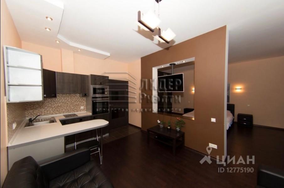 """1-комн. квартира, 55 м², 17 500 000   """"Продам квартиру в ЖК _____ с дизайнерским ремонтом для делового человека или молодой семьи, которые ценят простор и уют."""""""