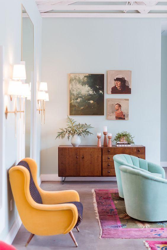 кресла в современных интерьерах  источник