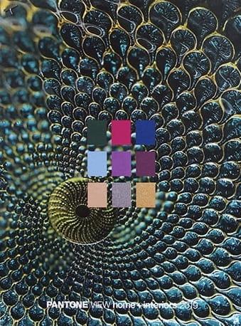 палитра Pantone Paradoxical, цвета 2019 года, фото