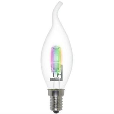 радужная галогенная лампа цветная