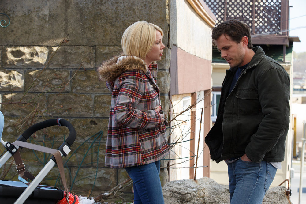 "Casey Affleck and Michelle Williams in ""Manchester by the Sea"""