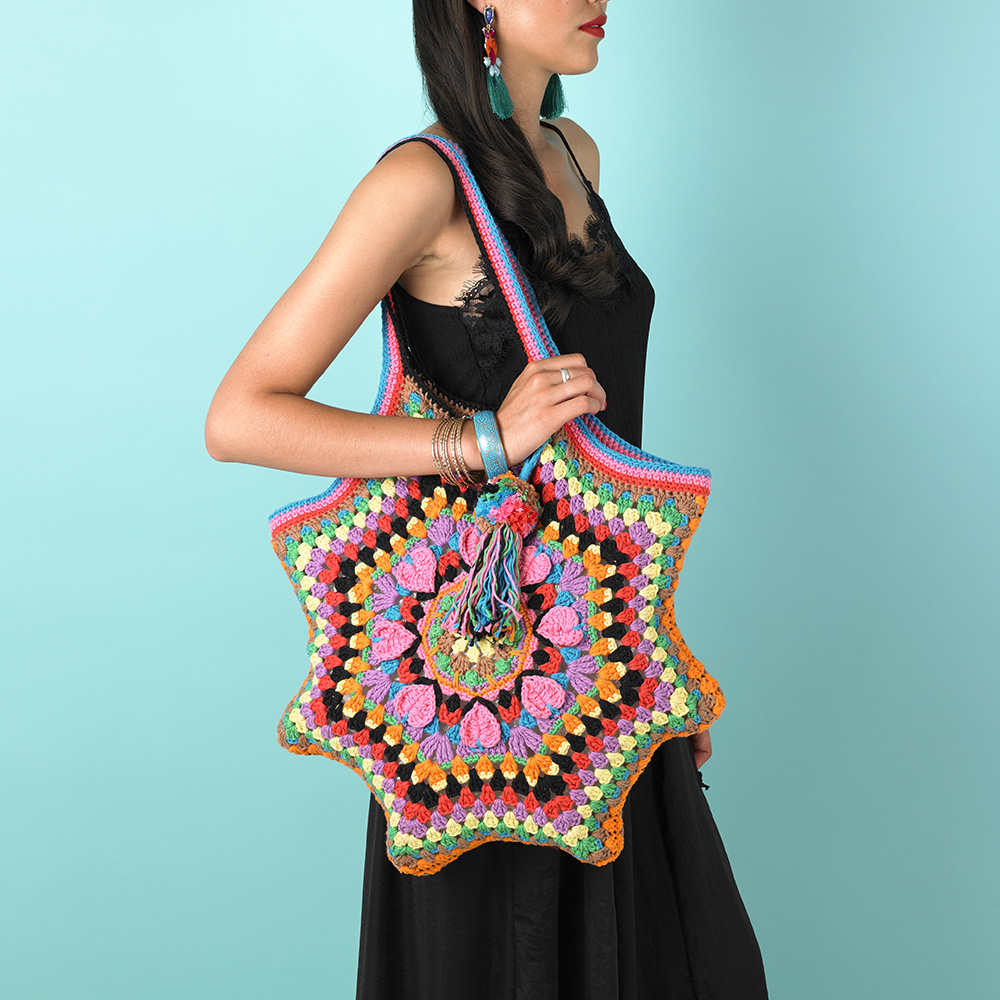 PASSION PETALS TOTE - KAHLO COLLECTION
