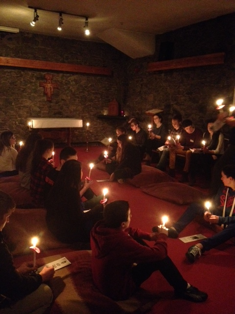 Night prayer on the feast of Candlemas