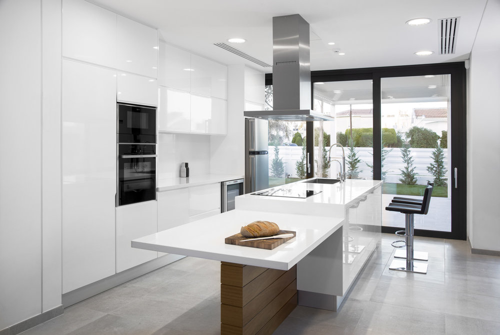 Copy of Kitchen white gloss