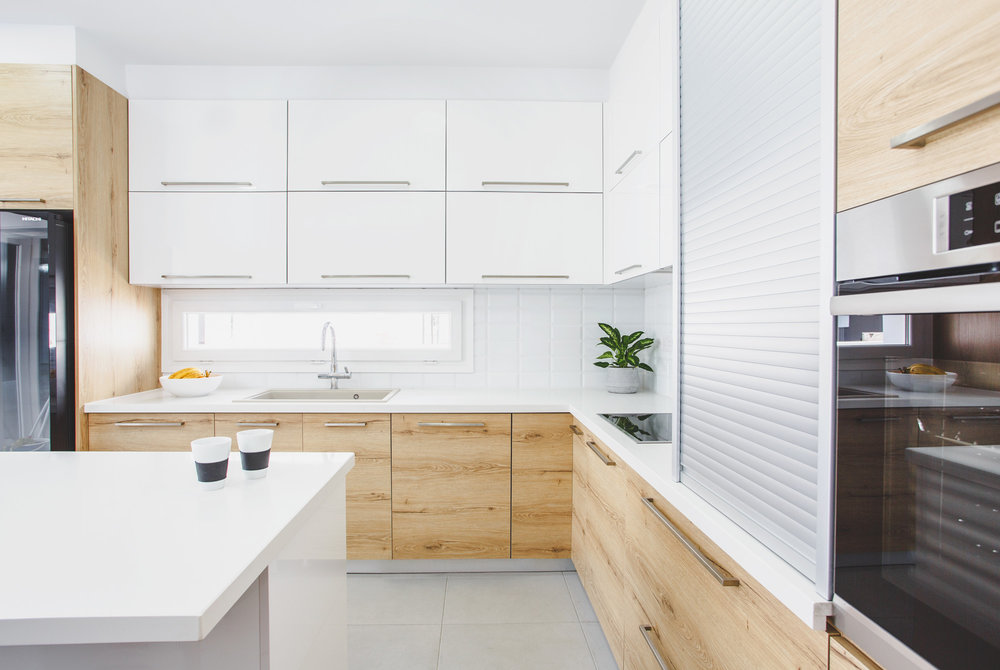 Kitchen white oak