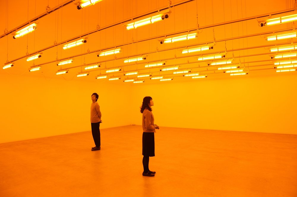 Olafur Eliasson, Room for One Colour (1997)