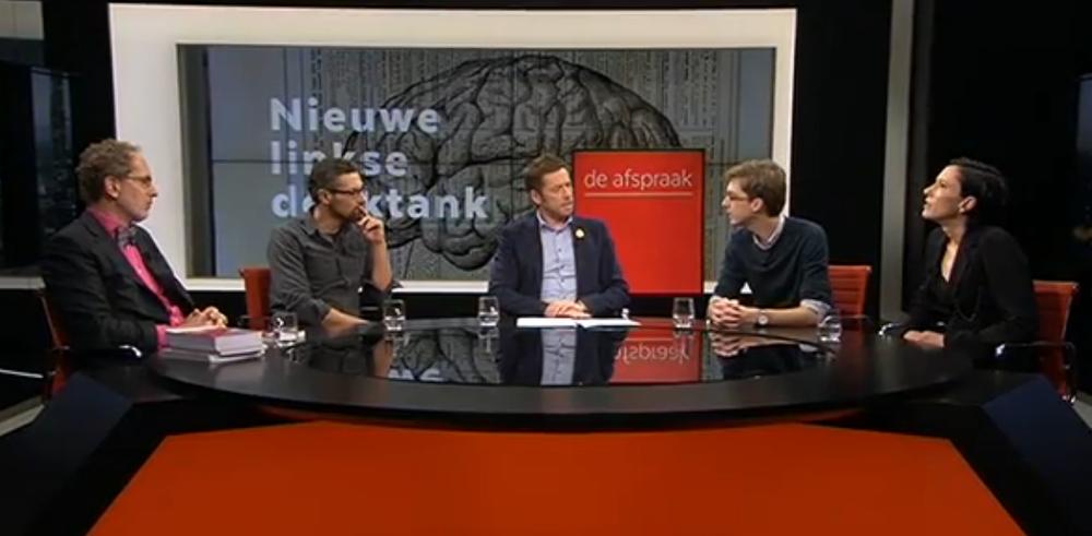 """VRT/De Afspraak, 13 dec. 2016, """"Somers: 'Het is de bedoeling dat we met iedereen kunnen praten'"""" (link/video)."""