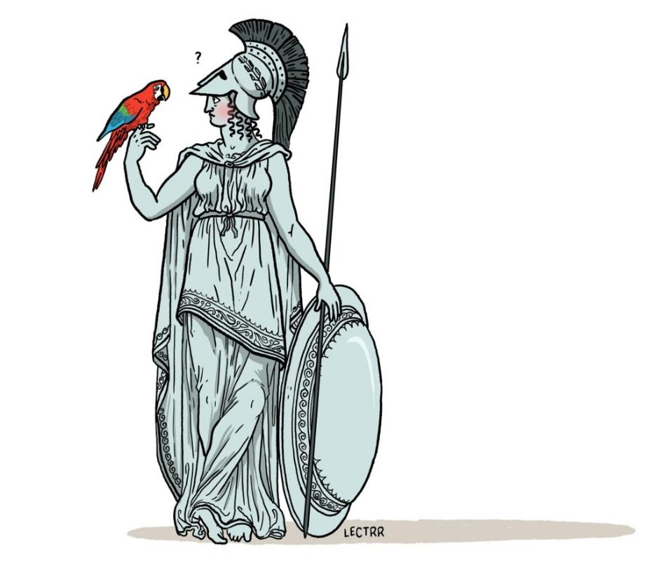 """De Standaard, 17 dec. 2016, """"Waar is de ideologie naar toe?"""" (Kasper Ossenblock over Minerva, link)"""