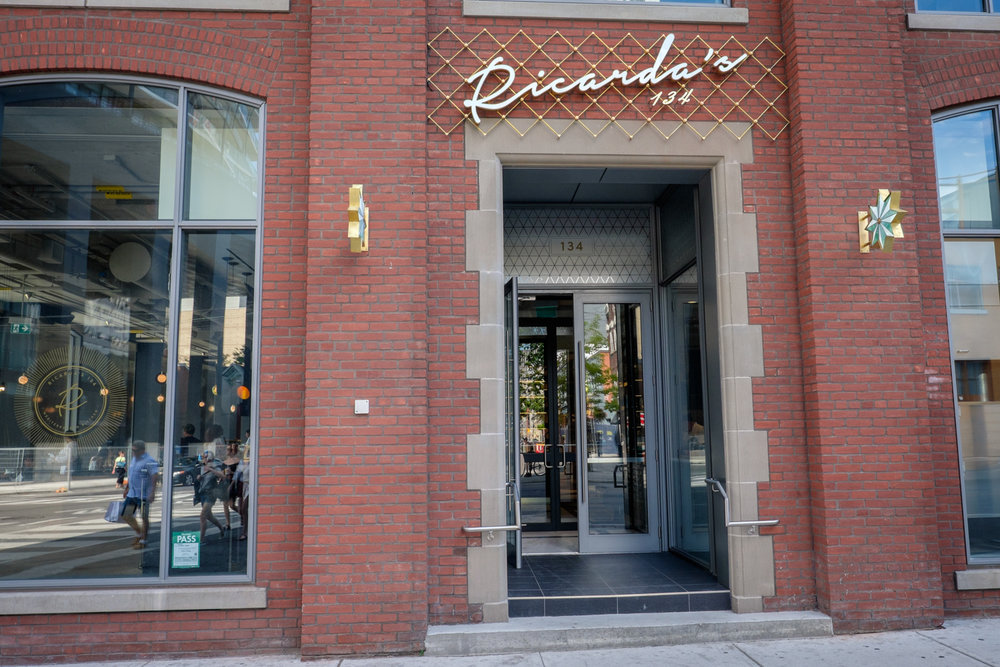 Sneak peak: Ricarda's, the new restaurant at QRC West -BisNow Toronto