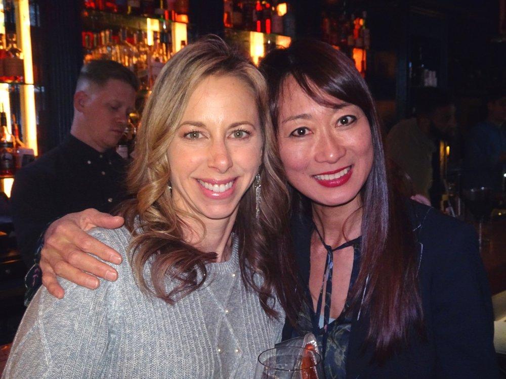Rachel Evans and Mio Behar