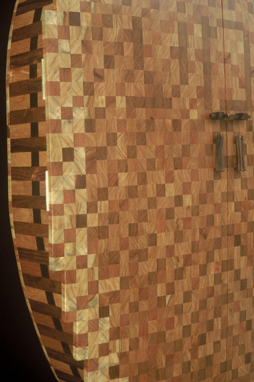 Detail, Shema Echad Torah Ark