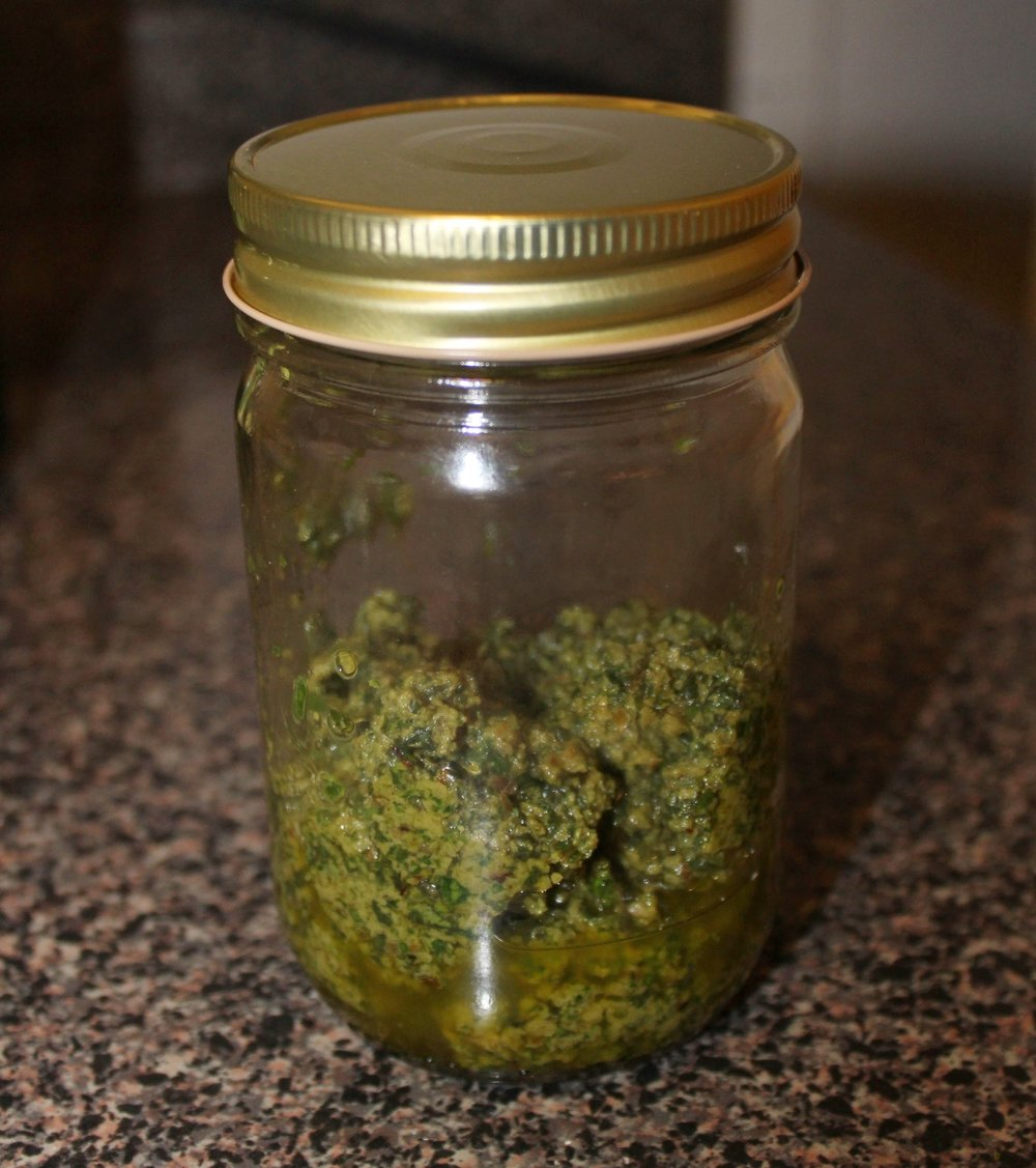 Small jar. Big flavor.