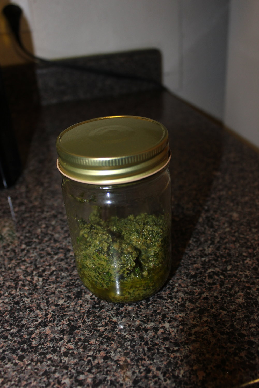 My favorite part of pesto? It can become whatever it wants to be when it grows up into dinner!