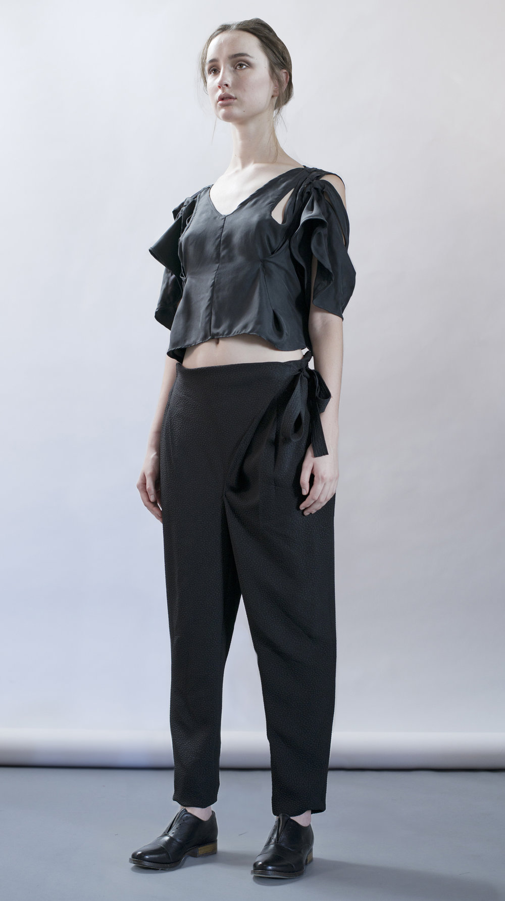 distortion collection  distortion top  cross pants