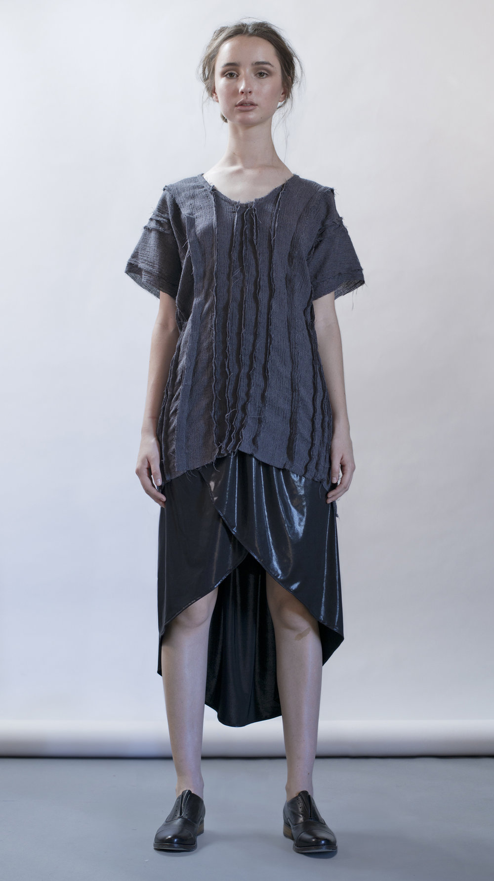 distortion collection  eternal top  cocoon skirt