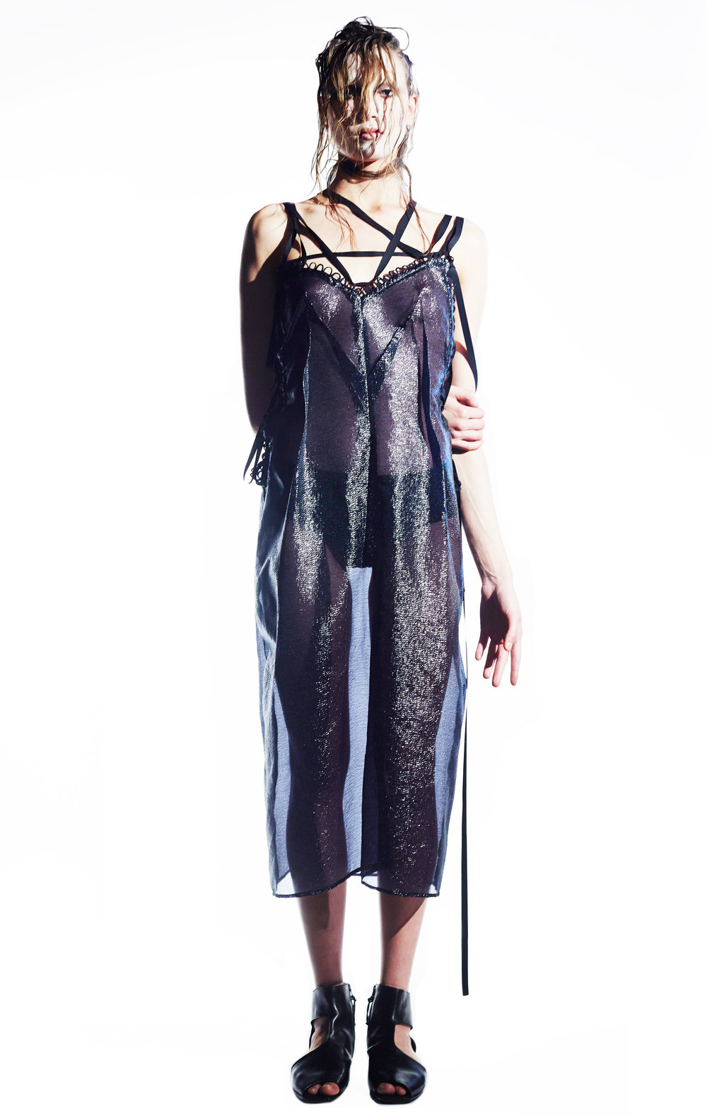 nocturnal creatures collection  exoskeleton dress