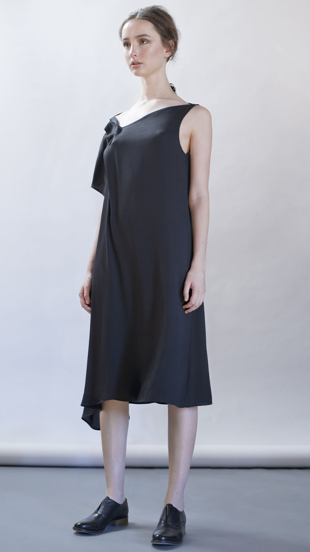 distortion collection   blue bird dress