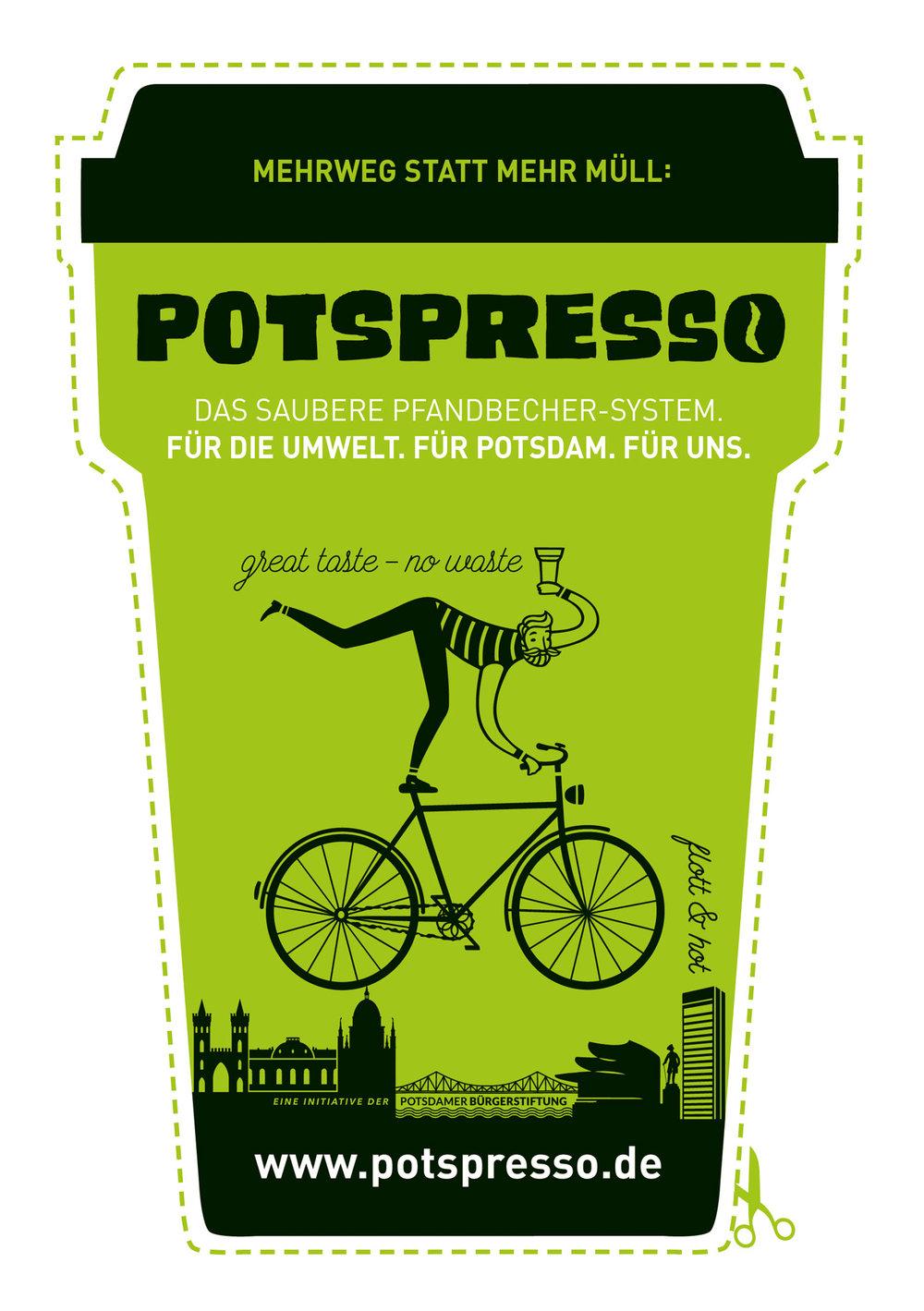 Potspresso-Flyer