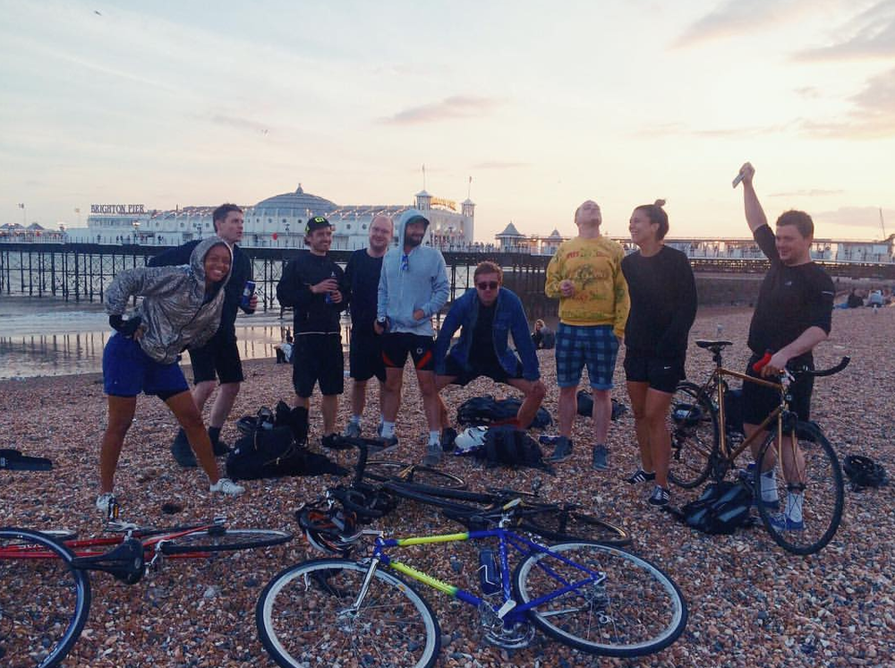 Brighton Peer Cycle crew