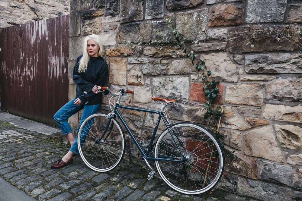The Meander Jacket - urban commuter cycling jacket