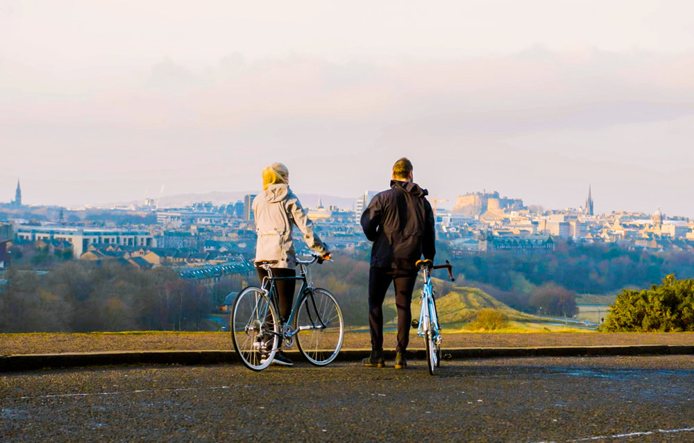 cycling edinburgh