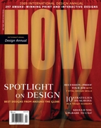 04.09  - outstanding award won in2009 International Design Award - HOW