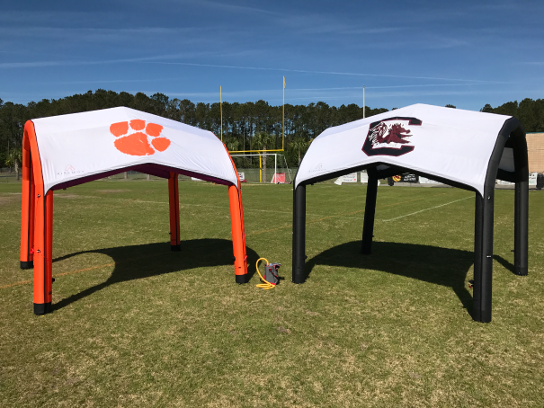 ClemsonVCarolina.png & Inflatable Tent | Air Framed Pop Up Tent | Tailgating Tent ...