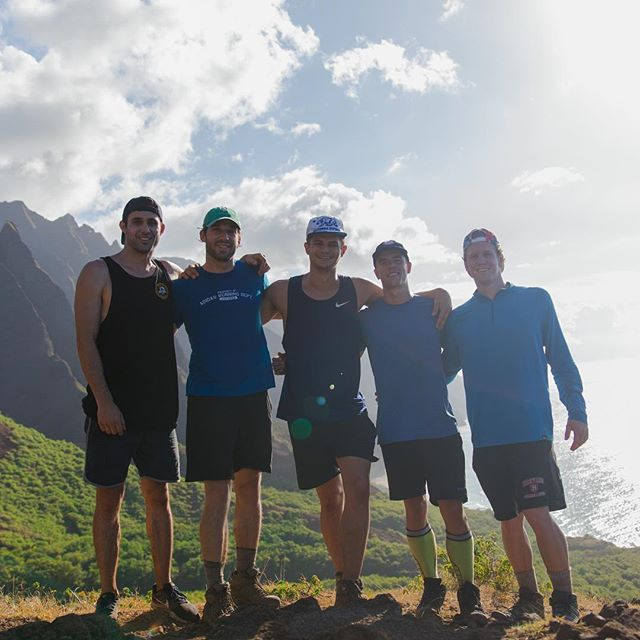Thought it'd be a good idea to backpack 22 miles of the coast of Kauai for a weekend with these dudes - turned out it was. More pics and video to come...