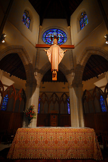 The Risen Christ, Altar, Saint Luke's Cathedral Orlando