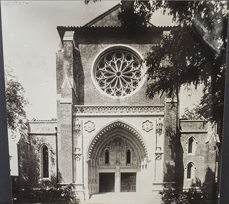 Cathedral Church of Saint Luke, Front, 1940s