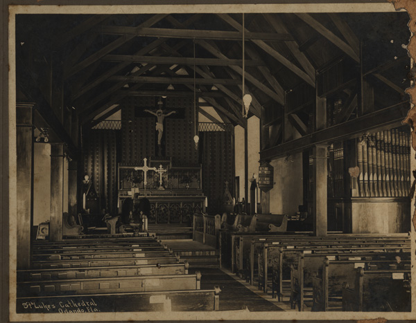 Cathedral Church of Saint Luke, Inside, 1910s