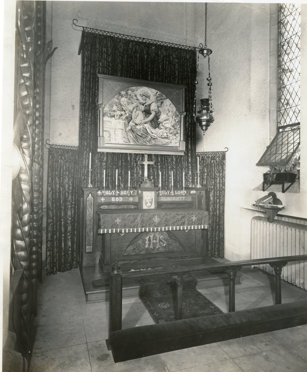 "Saint Mary's Chapel (The ""Lady Chapel""), 1950s"