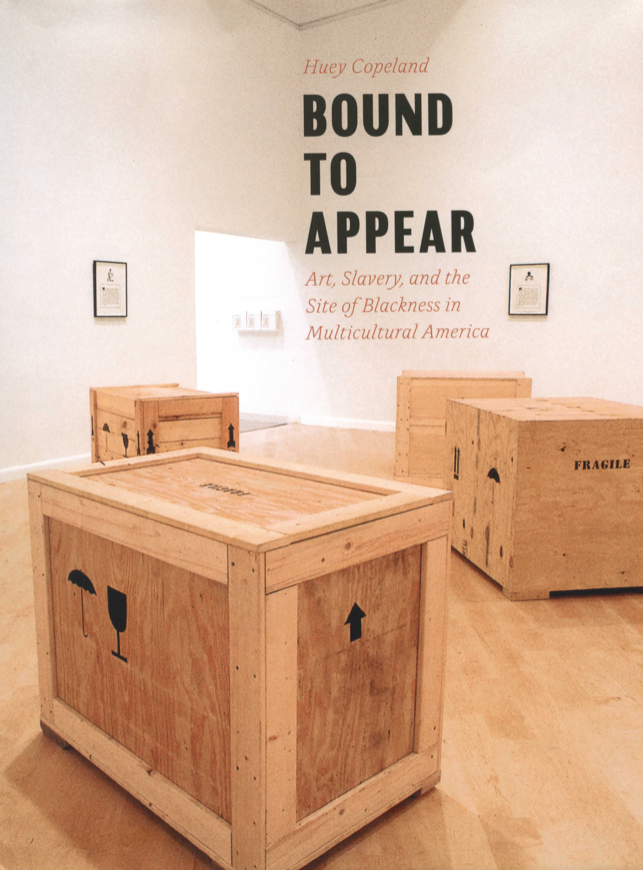 "Copeland, Huey. ""Glenn Ligon and the Matter of Fugitivity."" In Bound to Appear: Art, Slavery and the Sites of Blackness In Multicultural America. Chicago and London: University of Chicago Press, 2013: 108-150."