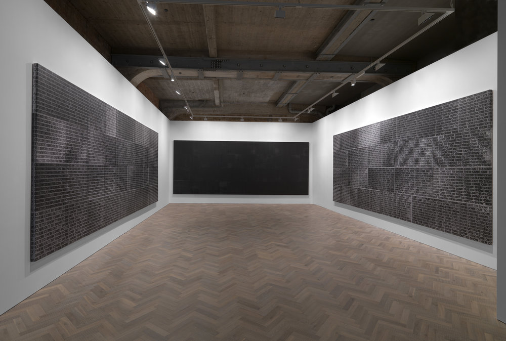 Glenn Ligon: Come Out, Thomas Dane, London