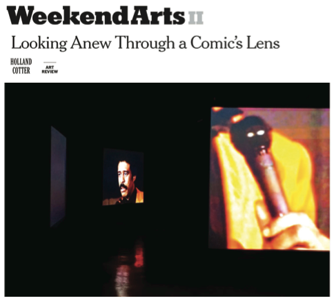 "Cotter, Holland. ""Refracting Race Through the Comic Lens of Richard Pryor.""    New York Times  , January 21, 2016: C21."