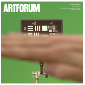 "Kuo, Michelle. ""Global Entry.""  Artforum  53, no. 9 (May 2015): 85-90."