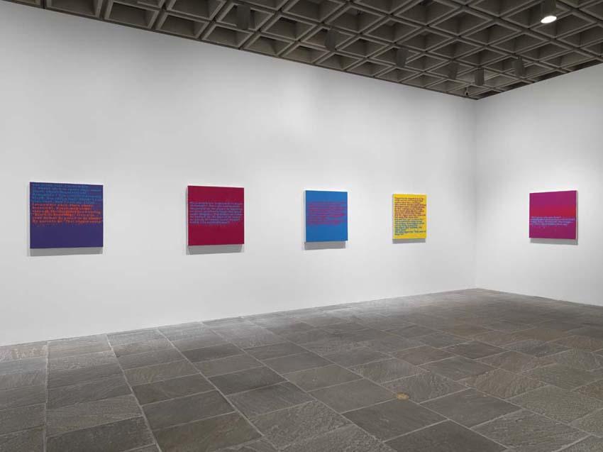 Glenn Ligon: AMERICA, Whitney Museum of American Art