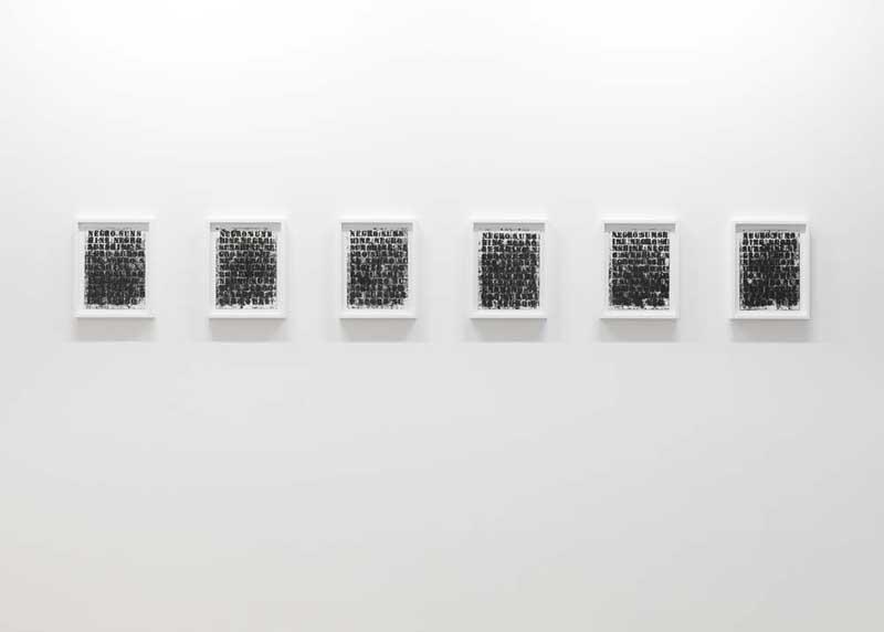 Glenn Ligon, Rat Hole, Tokyo