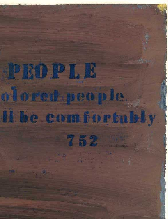 No. 752 (Colored People), 1990 [detail]