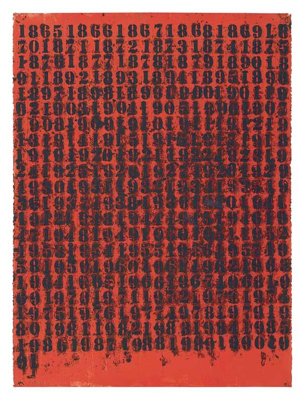 Untitled (1865-1991), 1991